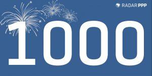 Radar de Projetos - Marco 1.000 Projetos