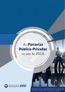 Capa da Retrospectiva 2016 - As Parcerias Público-Privadas