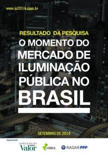 Capa Evento - Valor Econômico sobre o crescimento do mercado de Iluminação Pública no Brasil por meio dos contratos de PPP