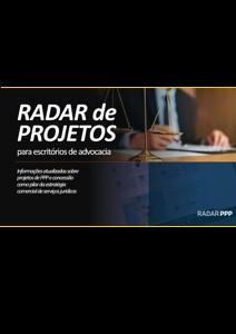 Capa Radar de Projetos para Escritório de Advocacia