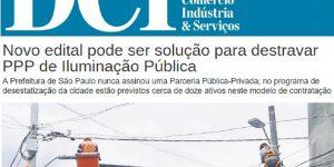 Reportagem - Diário Comércio Indústria & Serviços - PPP de Iluminação Pública de São Paulo