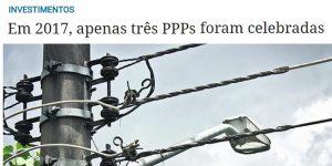 Reportagem - Retração no mercado de PPP no ano de 2017