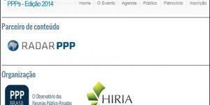Notícia - Evento Formação em PPP 2014