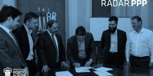 Treinamento - Celebração do Contrato de Treinamento em PPPs entre a Prefeitura de Porto Alegre e a Radar PPP