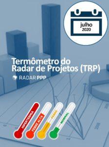 Termômetro do Radar de Projetos - Julho de 2020