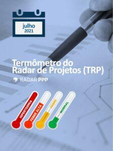 Termômetro do Radar de Projetos - julho de 2021