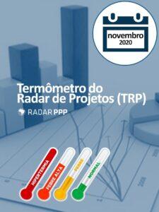 Termômetro do Radar de Projetos - Novembro de 2020